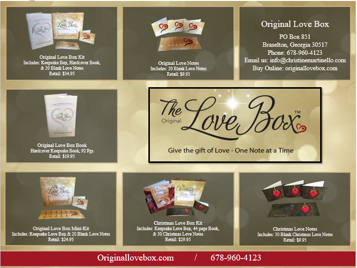Love Box Product Catalog