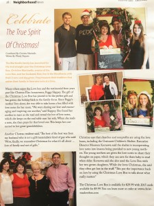 'Celebrate The True Spirit of Christmas' Article from 'Inside the Gates' Publication
